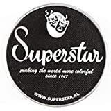 Superstar Face Paint - Line Black 163, Hypoallergenic, Gluten Free & Cruelty Free - Child Friendly, Great for Fairs, Carnivals, Party & Halloween Painting (16 gm)