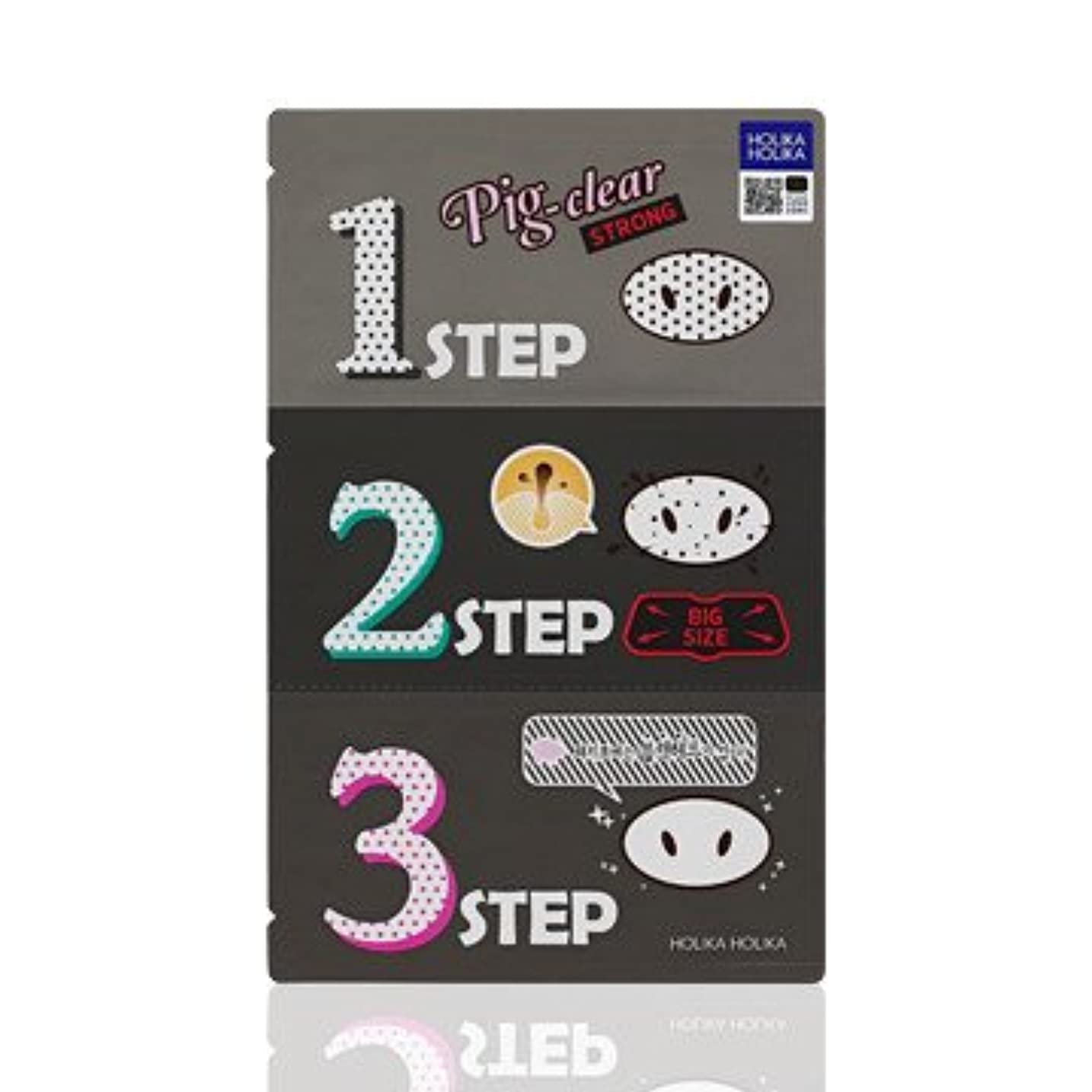 億生まれペースHolika Holika Pig Nose Clear Black Head 3-Step Kit 3EA