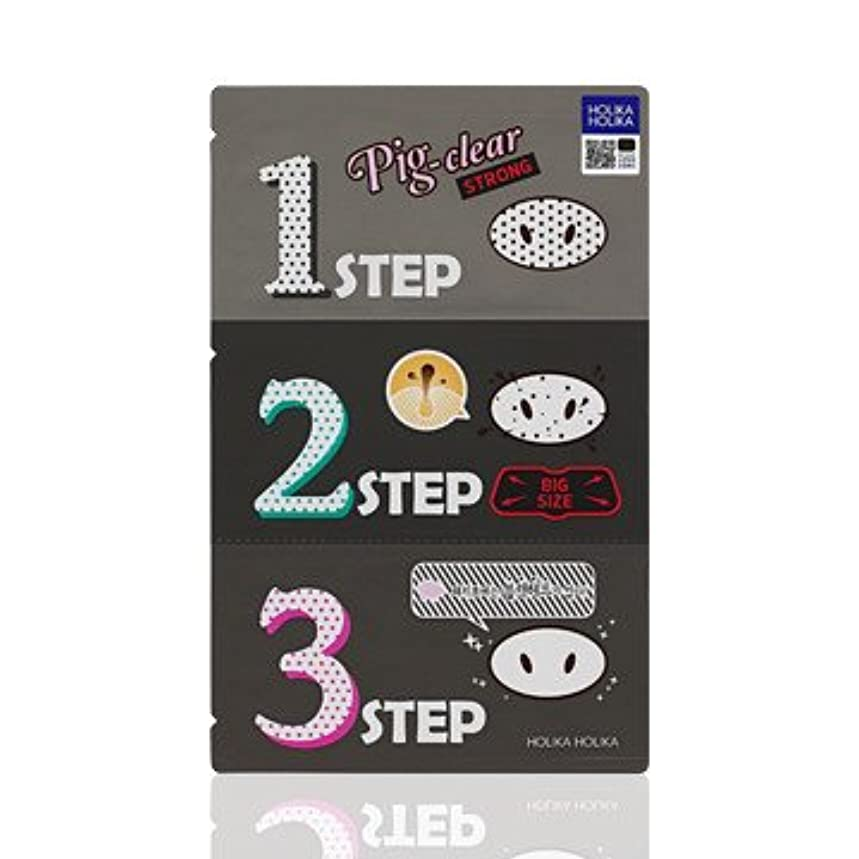 社会主義者トラクター必要条件Holika Holika Pig Nose Clear Black Head 3-Step Kit 10EA