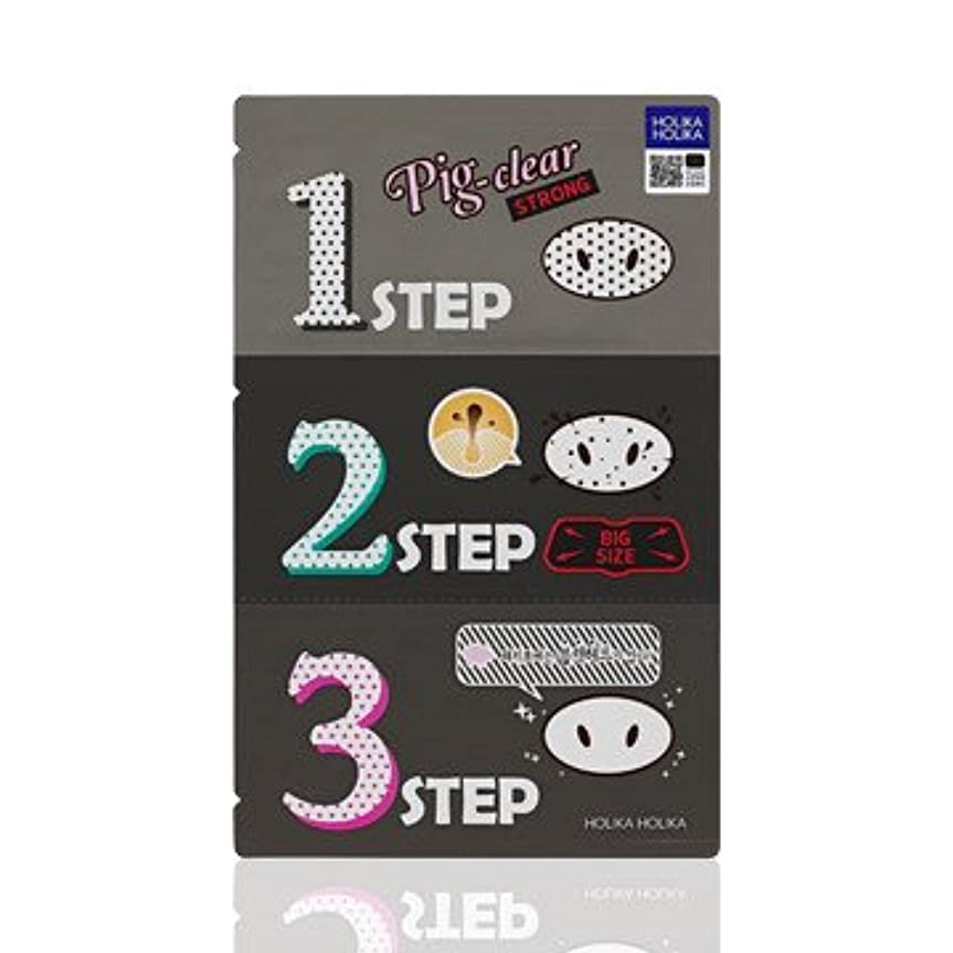新着手順シンプトンHolika Holika Pig Nose Clear Black Head 3-Step Kit 10EA