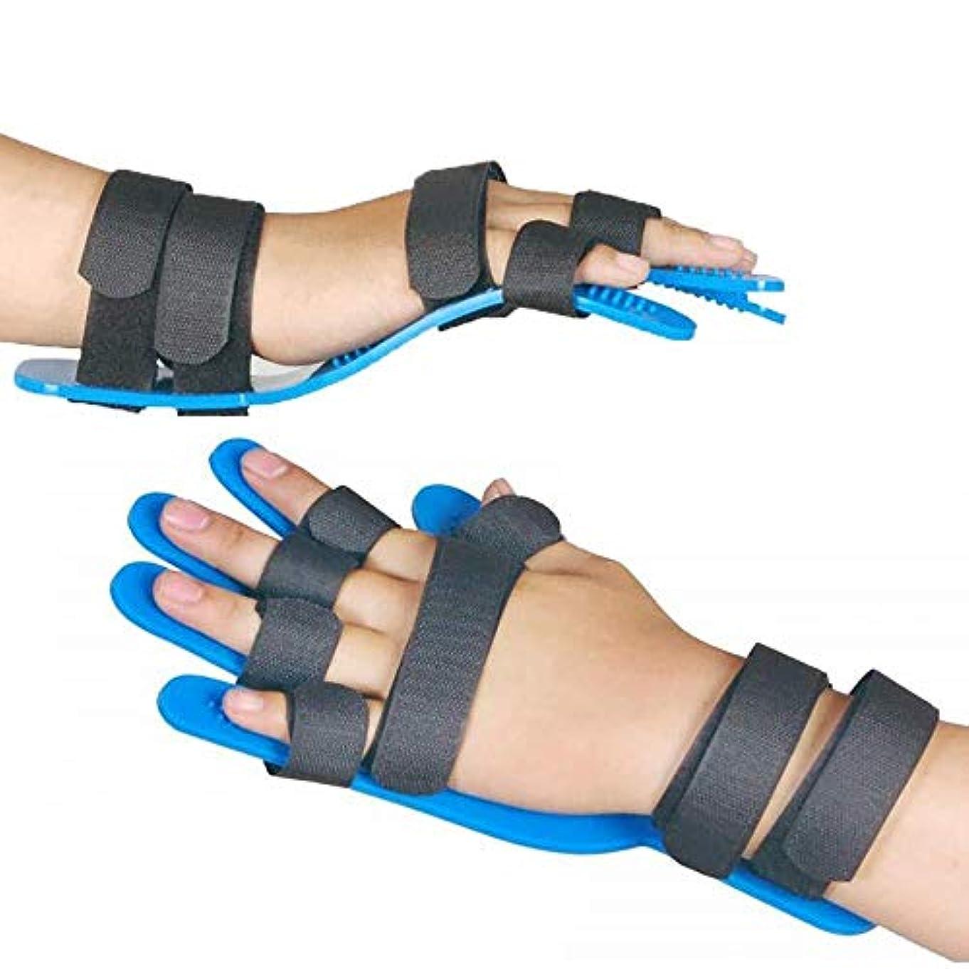太い引き出し期間指の損傷のサポート、関節炎リハビリテーションのエクササイズツール、中立手首のサポート装具のサポート,1PCS