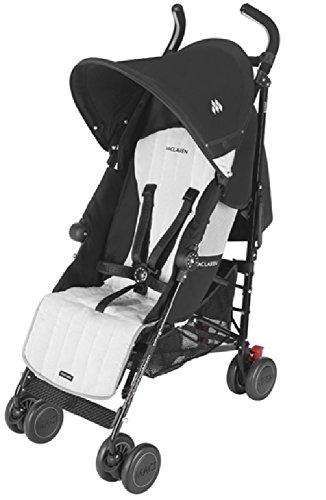 マクラーレン(Maclaren) ベビーカー クエストスポーツ (Quest Sport Stroller) Black Silver [並行輸入品]