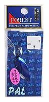 フォレスト(FOREST) ルアー パル2.5g 7 フラッシュブルー スプーン