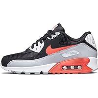 (ナイキ) Nike Air Max 90 Essential AJ1285-012 ブラック グレー レッド エアマックス スニーカー [並行輸入品]