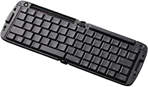 【2011年モデル】ELECOM 【NEXUS7対応】折りたたみBluetoothキーボード Android対応 ブラック TK-FBP018BK