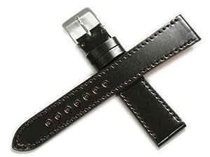 [ロコッテ]Rocotte コードバン ブラウン 20mm 本革 時計ベルト