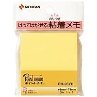 ニチバン ふせん紙 ポイントメモ PM-20YH