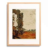 ギュスターヴ・モロー Gustave Moreau 「Esquisse de paysage (?) 」 額装アート作品