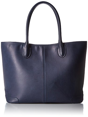 (ビームス) BEAMS / LEATHER TOTE2 NAVY 11620380925