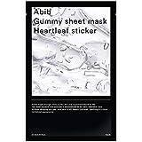 Abib Gummy Sheet Mask Heartleaf Sticker フェイスマスク 27ml