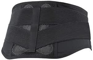 ノーブル バックレスキュー腰痛ベルト メッシュ ブラック Sサイズ