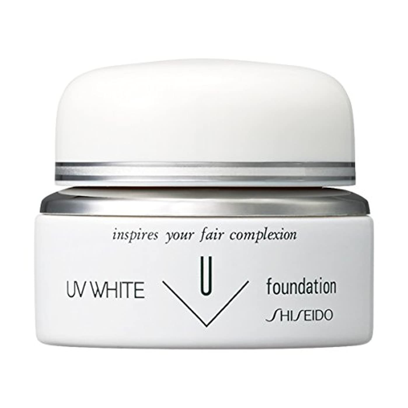 抑圧専門化する間UVホワイト ファンデーションN オークル10 20g