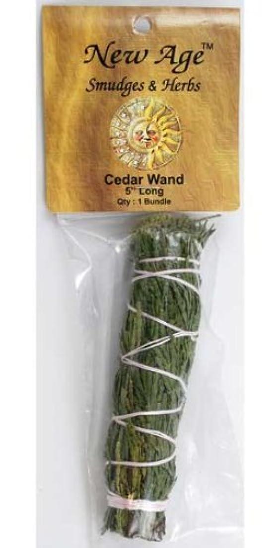 手順ブローホール手順Cedar smudge stick 5