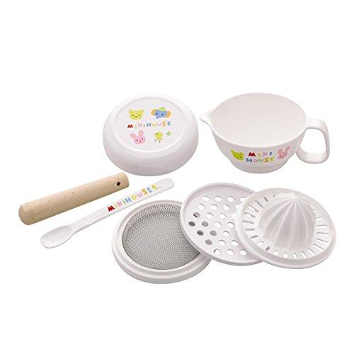 MikiHOUSE(ミキハウス)『ベビーフードセット離乳食調理セット(46-7099-955)』