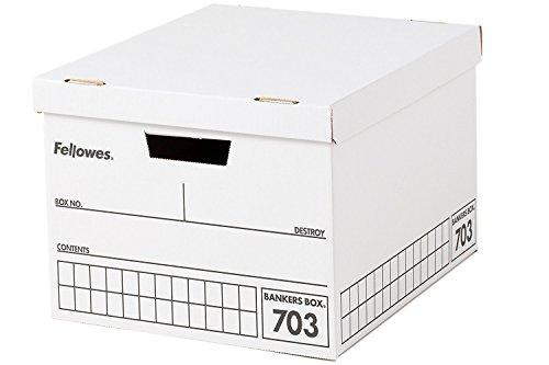フェローズ バンカーズボックス 703ボックス A4ファイル用 黒 3枚パック 対荷重30kg