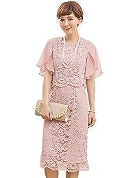 e74f904e3be29 Amazon.co.jp  ピンク - パーティードレス   ワンピース・ドレス  服 ...