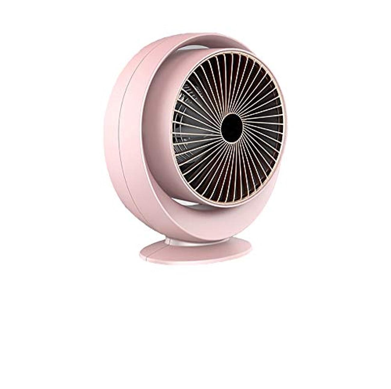 ダンプねじれ処方する三井 ミニヒーター家庭用小型電気ヒーターデスクトップヒーター小型太陽省電力オフィス浴室の壁面には、マウント (Color : Pink)