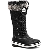 Aleader Women's Waterproof Winter Snow Boots