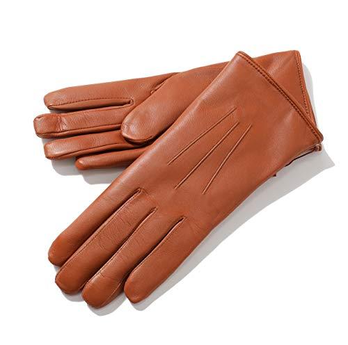 DENTS デンツ 17-1061 Ripley コニーファーライニング レザー グローブ 手袋 手ぶくろ アームウェア COGNAC/Brown COGNAC/Brown 6.5 [並行輸入品]