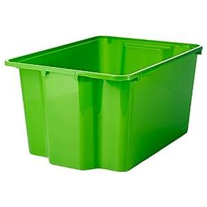 IKEA(イケア) GLES 30239585 ボックス, グリーン