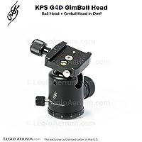 KPS g4d Gimballヘッド–プロフェッショナル40mmボールヘッドジンバル