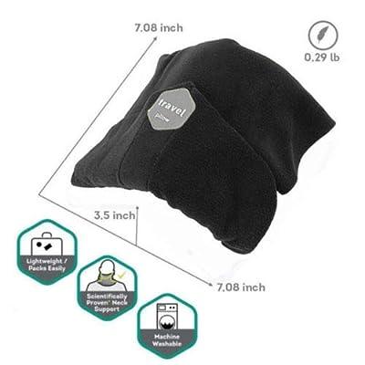 Trtl Pillow - Scientifically Proven Super Soft Neck Support Travel Pillow - Machine Washable