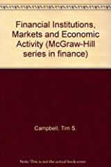 Financial Institutions, Markets and Economic Activity Hardcover