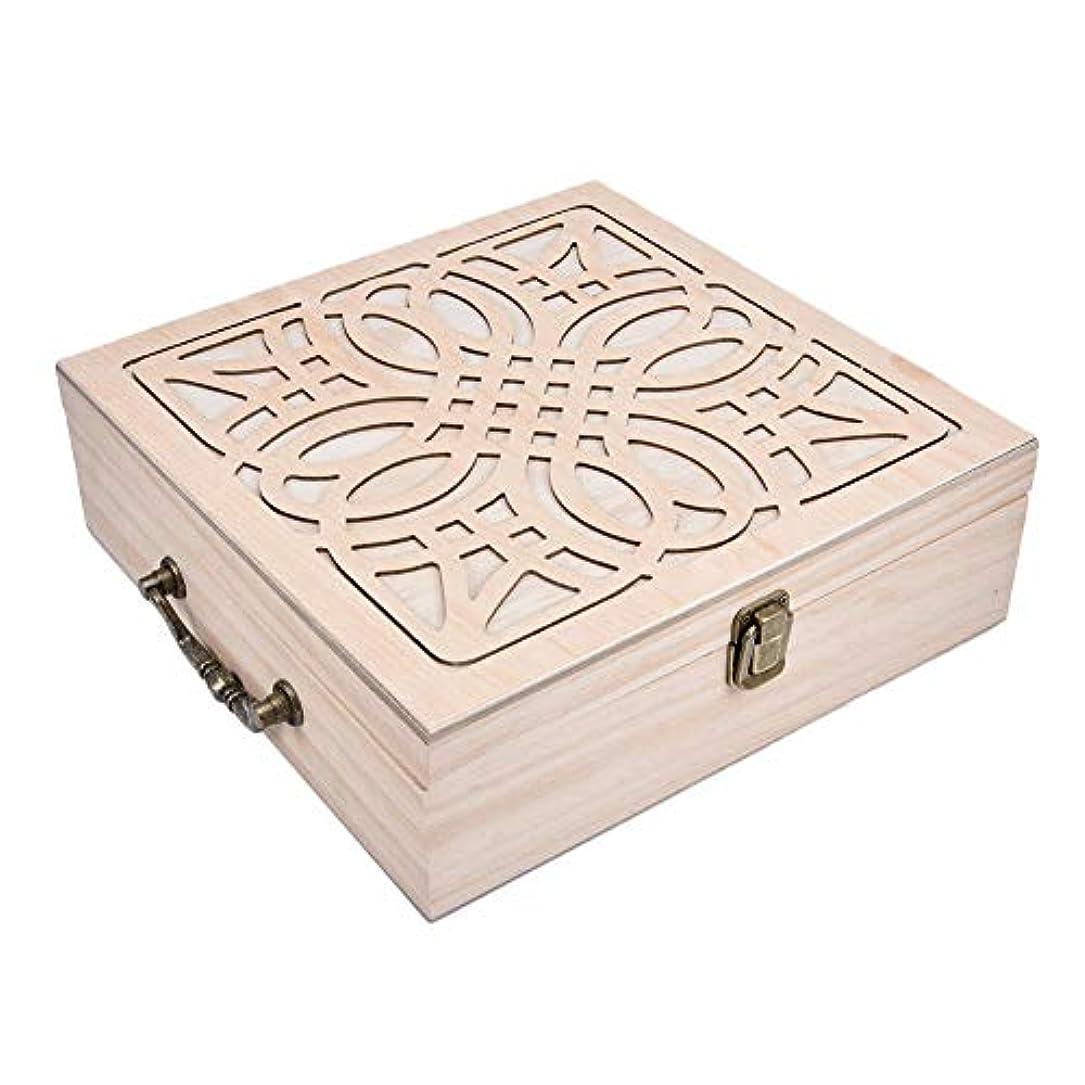 精油収納ケース エッセンシャルオイル収納ボックス アロマケース 62本用 木製 軽量 コンパクト 5ml?10ml?15ml?115mlの精油ボルトに対応 junexi