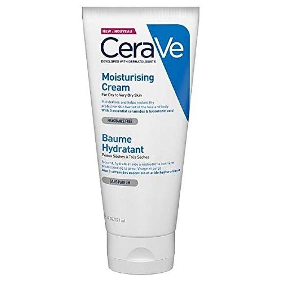 リル部分学校教育[CeraVe] Cerave保湿クリームチューブ177ミリリットル - CeraVe Moisturising Cream Tube 177ml [並行輸入品]