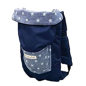 日本エイテックス サンクマニエルプレール 新生児から使える 5WAY抱っこひも デニムブルースター 0か月~ 01-097