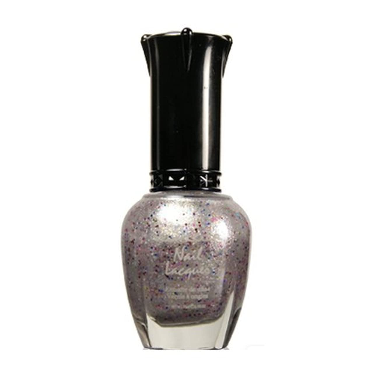 フェッチボックス醜い(6 Pack) KLEANCOLOR Nail Lacquer 4 - Winter Wonderland (並行輸入品)
