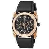 [BVLGARI(ブルガリ)] 腕時計 オクト オリジナーレ BGOP41BGLCH メンズ ブラック [並行輸入品]