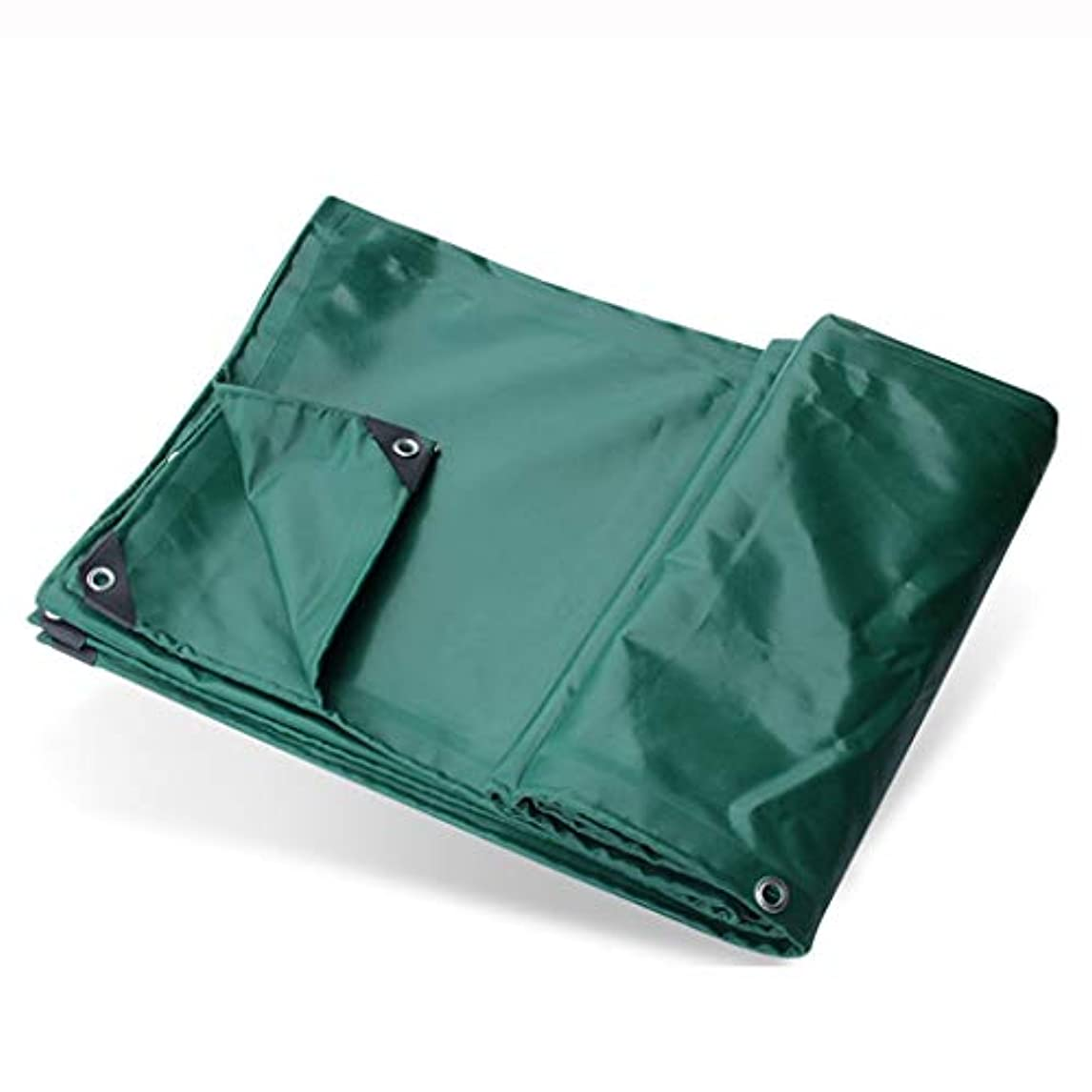 十二ディスコ完了アウトドア 日よけ厚手の防水布防水シート3つの反布雨の防水シートポリ塩化ビニールの上塗を施してある布車の防水シート緑のゴム製防水シート良質 テント (Color : Green, Size : 500*700cm)