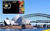 [Vodafone] オーストラリア ニュージーランド 4G-LTE データ通信 使い放題 プリペイドSIMカード (15日間)