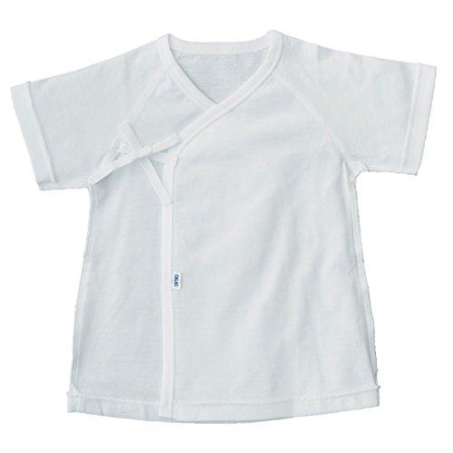 15da3848e7f8f CELEC(セレク) 新生児 短肌着 日本製 ベビー 肌着 50cm ホワイト 天竺 出産準備  105000  新生児 の肌はデリケートなので肌の乾燥やムレを防ぐために肌着を着せてあげ ...