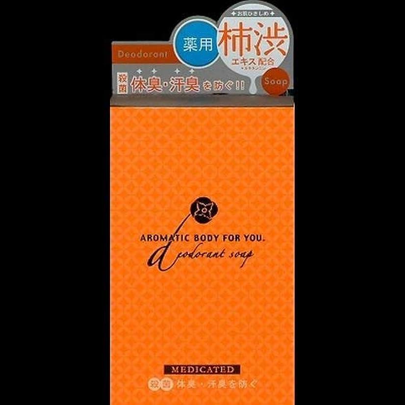 大騒ぎ時計ガイダンスペリカン 柿渋エキス配合 アロマティックBソープ 100g ×2セット