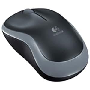 ロジクール 2.4GHzオプティカルワイヤレスマウス(スイフトグレー) M186SG