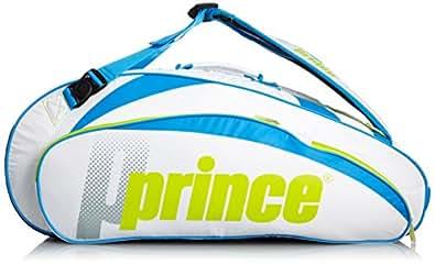 Prince(プリンス) ラケットバッグ6本入 ホワイト×ライム SP461