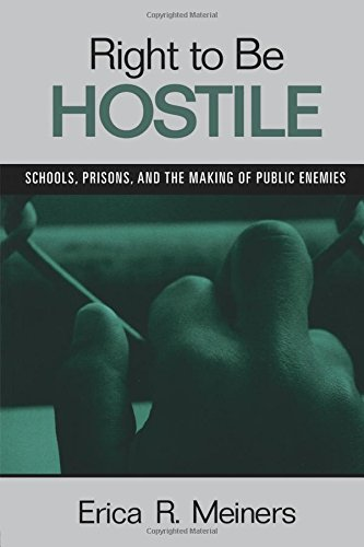 Download Right to Be Hostile: Schools, Prisons, and the Making of Public Enemies 0415957125