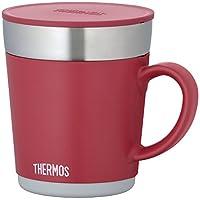 サーモス 保温マグカップ 350ml レッド JDC-350 R