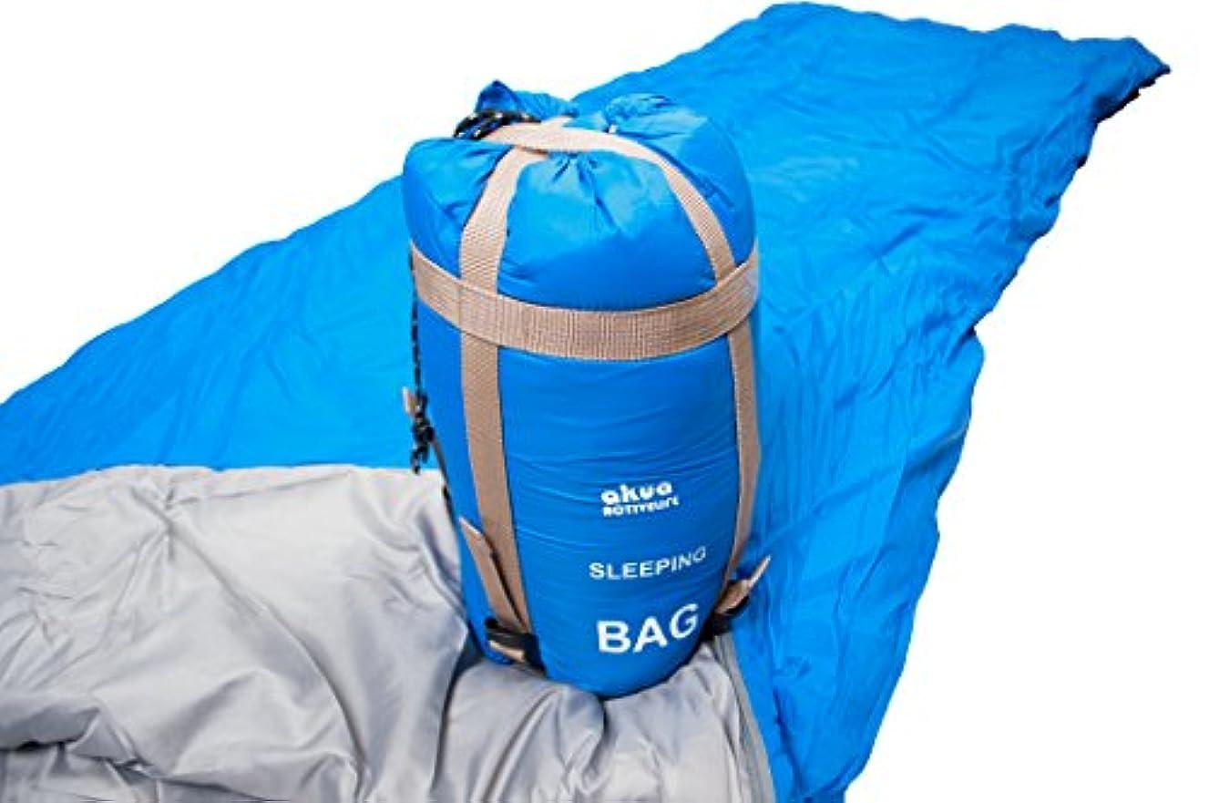 麻酔薬法律により流すAKUA(アクア)軽量 封筒 型 シュラフ 寝袋 キャンプ アウトドア