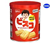 江崎グリコ ビスコ保存缶(非常食) 30枚×10個