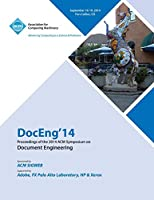 DocEng14 14th ACM SIGWEB International Symposium on Document Engineering