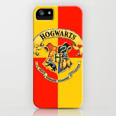 Society6(ソサエティシックス)iPhone5 5S対応ケース ハリーポッター グリフィンドールエンブレム Harry Potter- The Gryffindor スマホケース/アイフォン/アイホン/ソサエティ6/society6