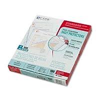 c-line ®ポリプロピレンシートプロテクタープロテクター、Sht、Ltr、CR 2303C / 500(パックof8)