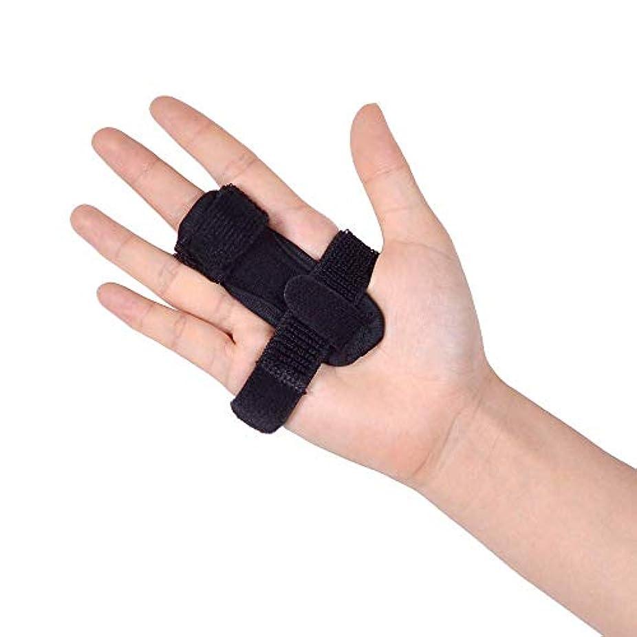 プロペラ影響力のある一指サポーター バネ指 指サポーター ばね腱鞘炎 指保護 固定 調整自在 左右兼用 フリーサイズ