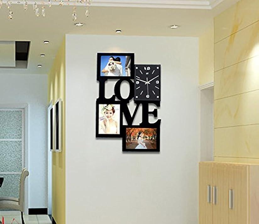オーク笑ブートリビングルームの写真の壁地中海ヨーロッパの純木の写真の壁の組み合わせ再生可能な写真の壁 (Color : #2)