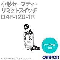 オムロン(OMRON) D4F-120-1R 小形セーフティ・リミットスイッチ (1NC‐1NO/ローラ・レバー形) NN