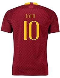 398fa9976a9 2018-2019 Roma Authentic Vapor Match Home Nike Shirt (Francesco Totti 10)