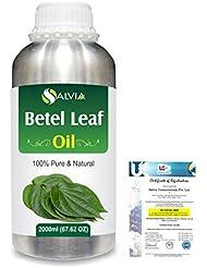 Betel Leaf (Piper Betle) 100% Natural Pure Essential Oil 2000ml/67 fl.oz.